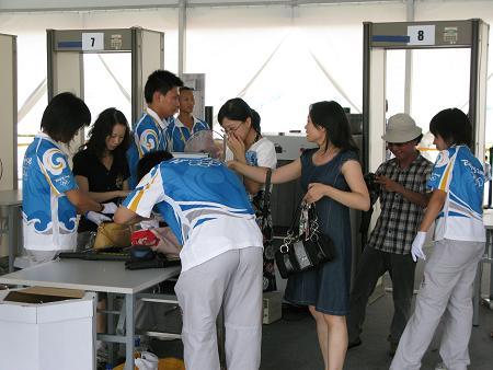 Garrett Fémkereső kapu a pekingi olimpián