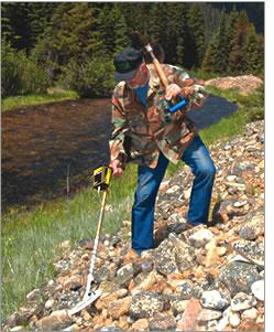 GARRETT aknakereső fém kereséshez talajszkenner