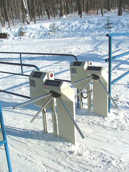 Kültéri forgóvilla - hóban télen