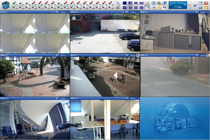 Multieye NVR screenshot