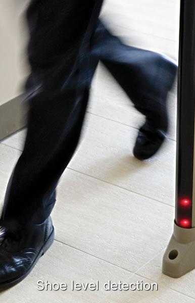 Garrett fémkereső kapu maximális biztonság biztonsági személyellenőrzés