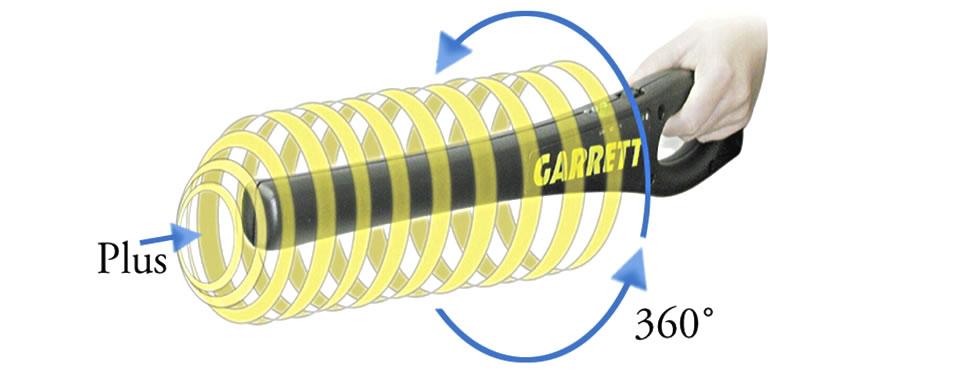 GARRETT SuperWand kézi fémkereső